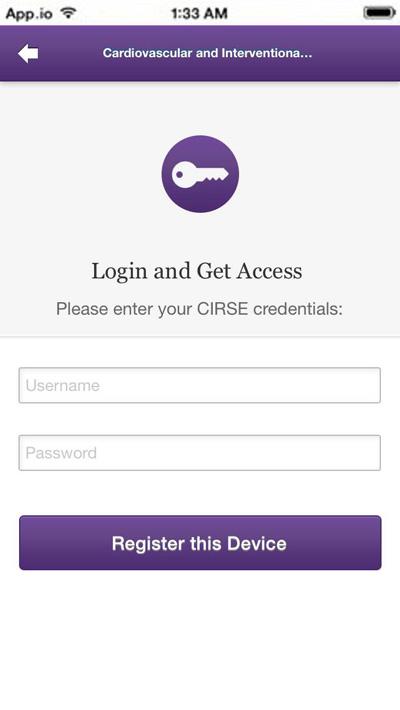 CVIR App